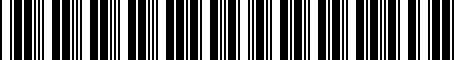 Barcode for 000051444N