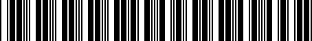 Barcode for 000052409D