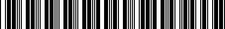 Barcode for 000065761B