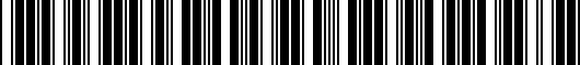 Barcode for 17B061541DSP