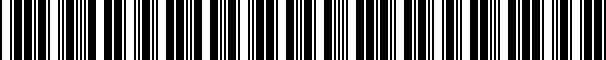 Barcode for 1Q1061550HA041