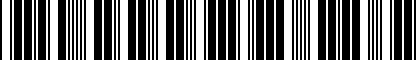 Barcode for 5G0071303