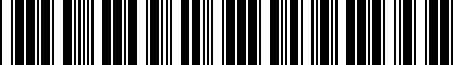 Barcode for 5G9075101