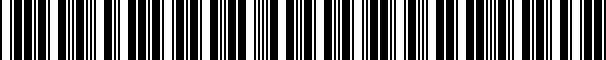 Barcode for 5K0853651AGZLL