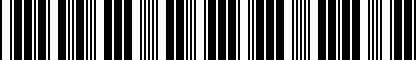 Barcode for 5K3071303