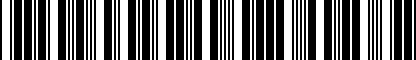 Barcode for 5K4064363