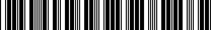 Barcode for 5N0071303