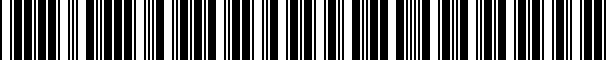 Barcode for CVC2SP98VW9298