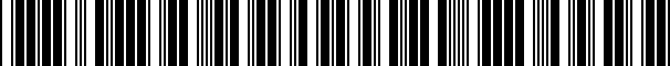Barcode for CVC3SP98VW7320