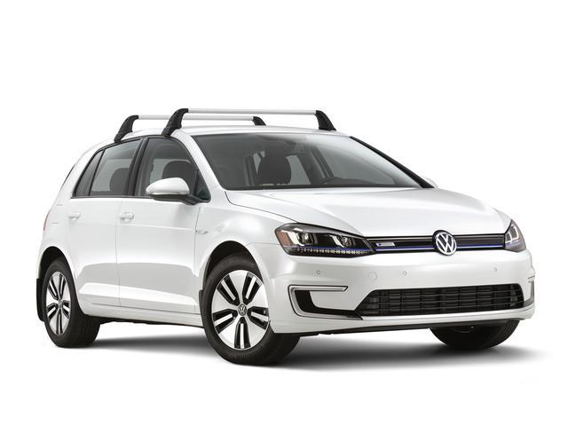 Diagram Base Carrier Bars  (4 door) (5G4071126) for your 2017 Volkswagen e-Golf