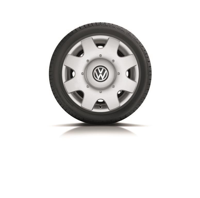 2012 Volkswagen Jetta Hub Cap Set (4pcs) - For Jetta - Brilliant Silver. Hub, cap, silver, wheel ...