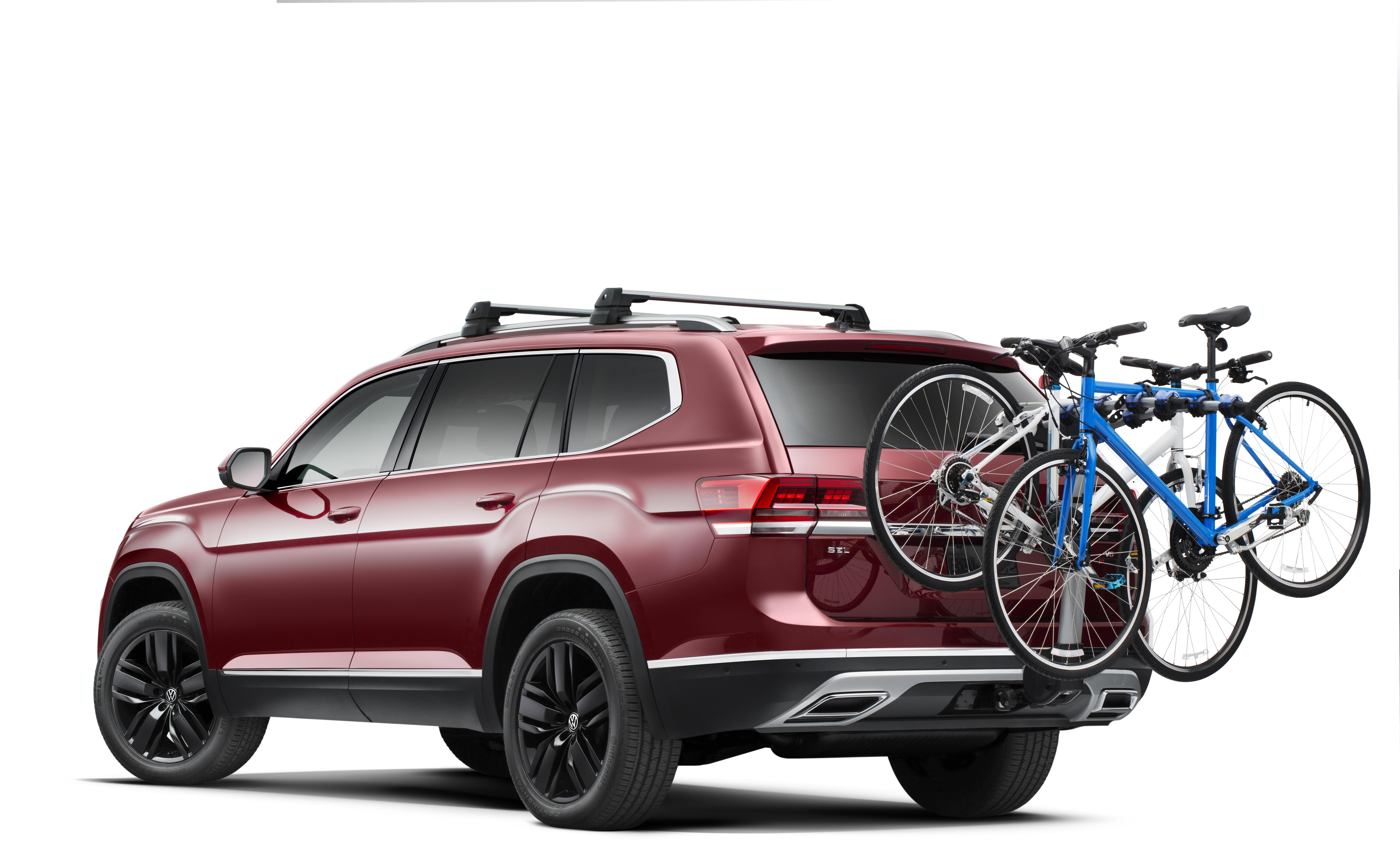 2018 Volkswagen Atlas Thule 174 Hitch Mount Bike Carrier