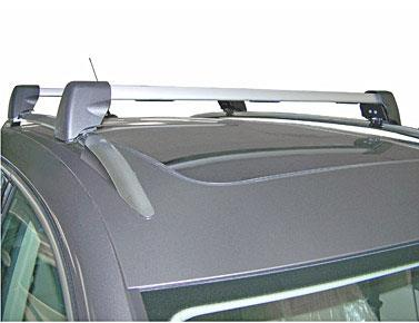 Diagram Base Carrier Bars - For vehicles with factory rails - Silver (5N0071151) for your Volkswagen