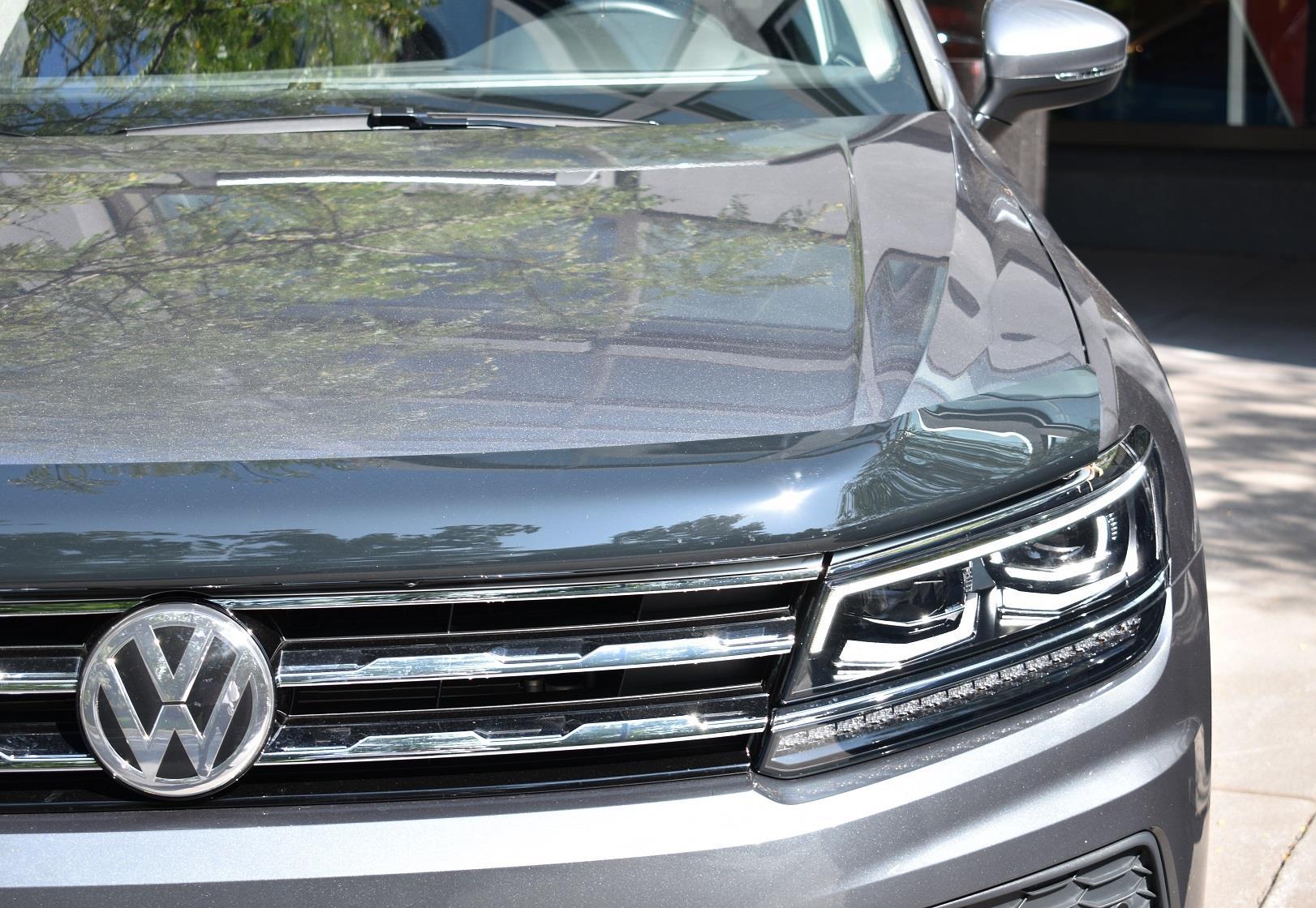 volkswagen tiguan hood deflector hood deflector bug insect plastic protection