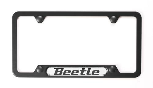 Volkswagen Beetle Convertible License Plate Frame Beetle