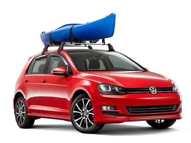 Diagram Base Racks and Kayak Holder Attachment - 2dr (NPN071040) for your 2013 Volkswagen GTI
