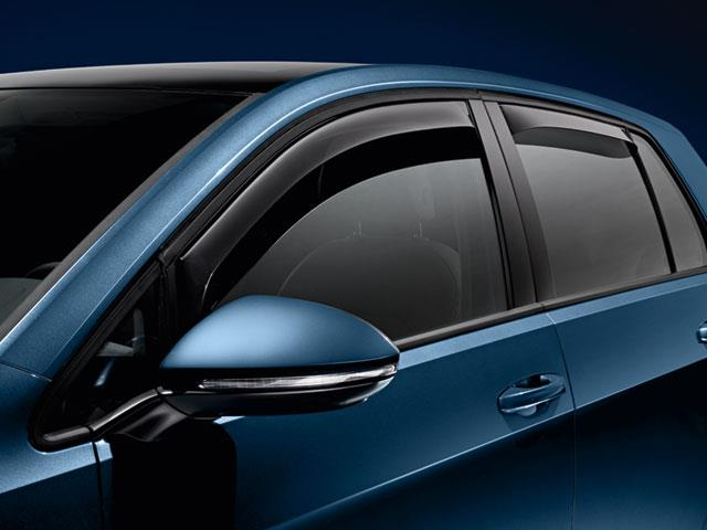 Diagram Side Window Deflector Kit (NPN072001) for your Volkswagen GTI
