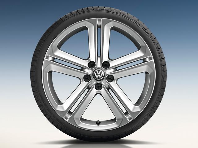 2016 Volkswagen Touareg 21 Mallory Wheel Sterling Silver