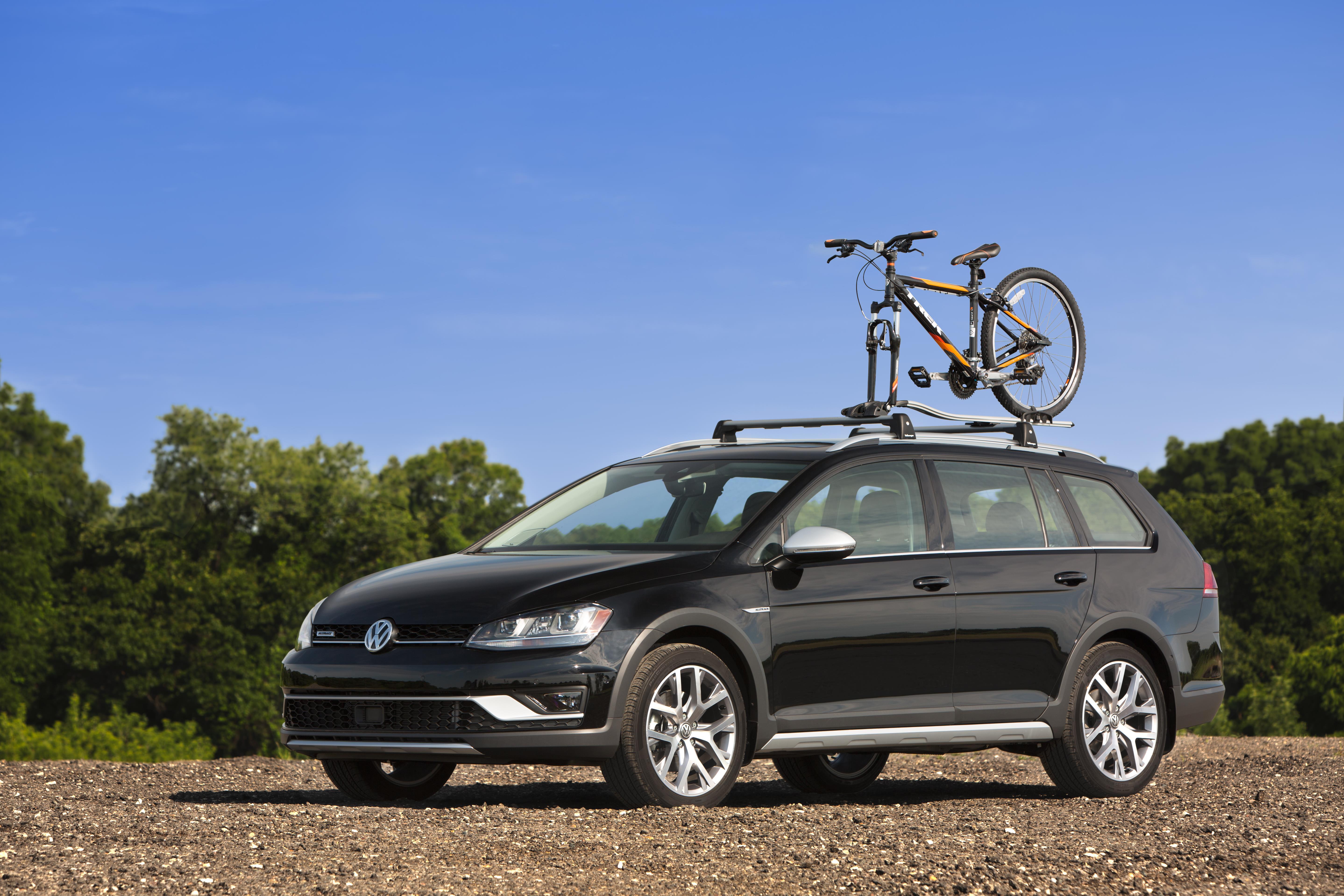 2017 Volkswagen Alltrack Base Racks and Bike Holder Attachment. Bike rack - NPN071044 - Genuine ...