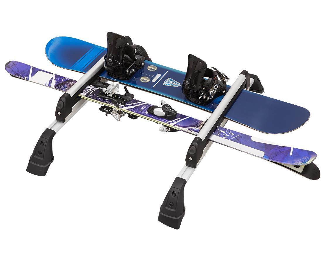 volkswagen atlas base carrier bars  snowboardski deluxe attachment npn