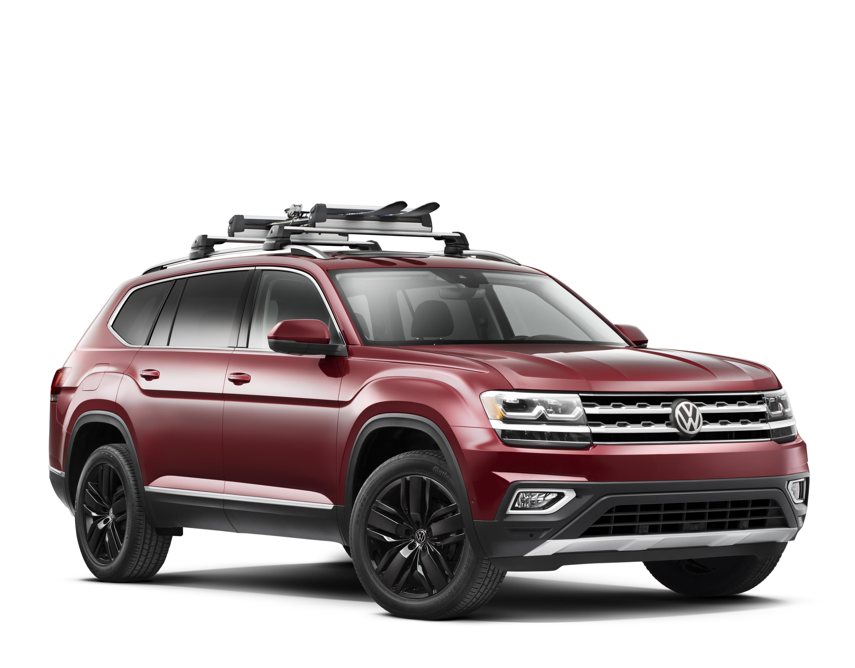 2018 Volkswagen Base Carrier Bars and Snowboard/Ski Attachment - NPN074052 - Genuine Volkswagen ...