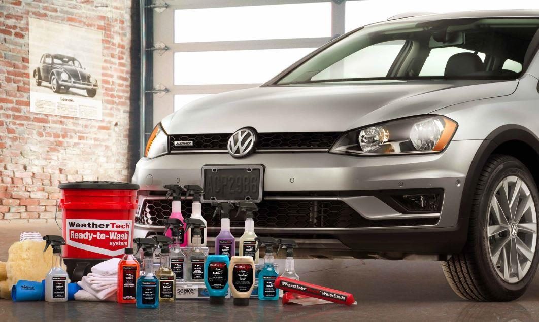 Diagram WeatherTech® TechCare® Launch Package for your 2011 Volkswagen GTI
