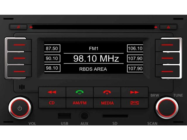 Diagram RMT 100+ MP3 Bluetooth Radio (1JM035157AT) for your 2020 Volkswagen Golf
