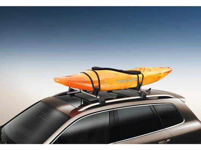 Diagram Base Carrier Bars and Kayak Holder Attachment (NPN071037) for your 2019 Volkswagen SportWagen
