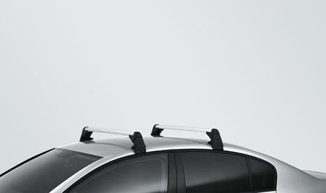 Volkswagen Passat Base Carrier Bars Silver Base