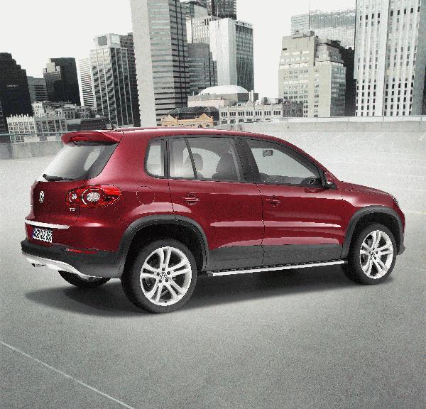 Volkswagen 2015 Tiguan: 2015 Volkswagen Tiguan Side Steps