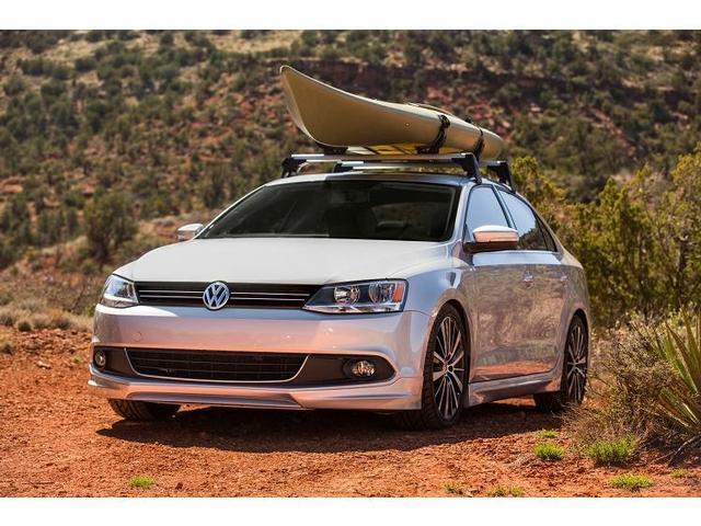 Volkswagen Jetta Base Racks and Kayak Holder Attachment - NPN071015 - Genuine Volkswagen Accessory
