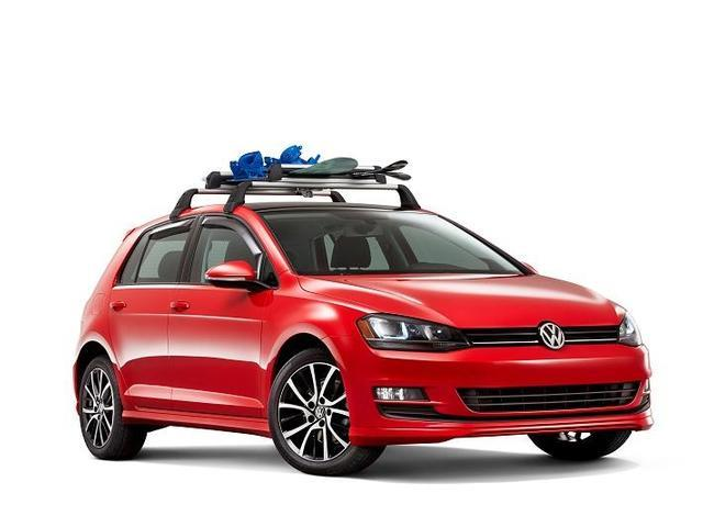 Diagram Base Racks and Snowboard/SKI Attachment - 2dr (NPN071039) for your 2013 Volkswagen GTI