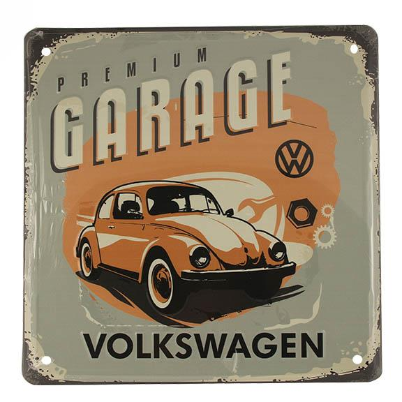 Drg04131 premium garage sign what recycled known for Garage volkswagen condom