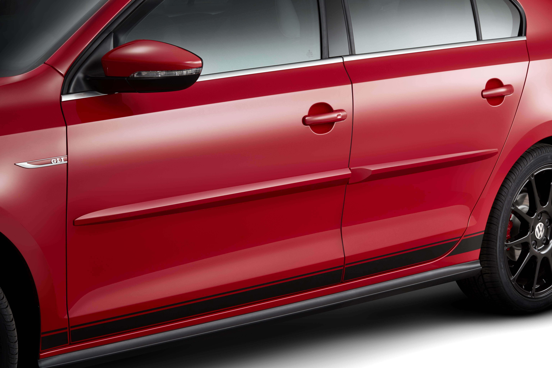2016 Volkswagen Jetta Body Side Molding Kit (Pre Painted). Purchase - 5C7071328 - Genuine ...
