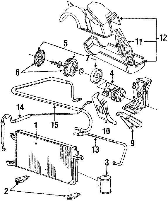 1989 volkswagen jetta field coil - 176820813