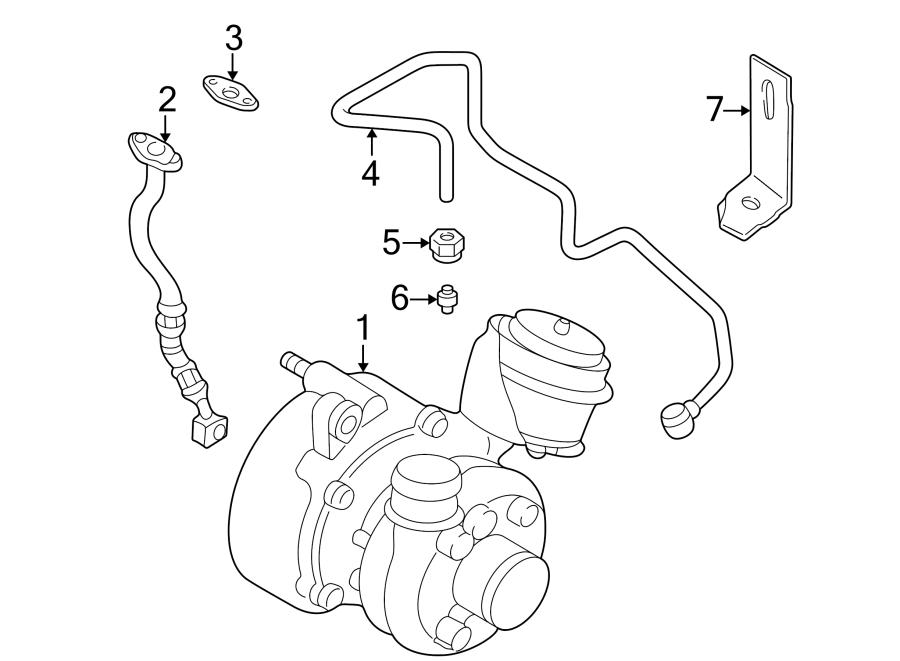 volkswagen beetle convertible exhaust manifold  exmanturbo  turbocharger  new  wexhaust  vin