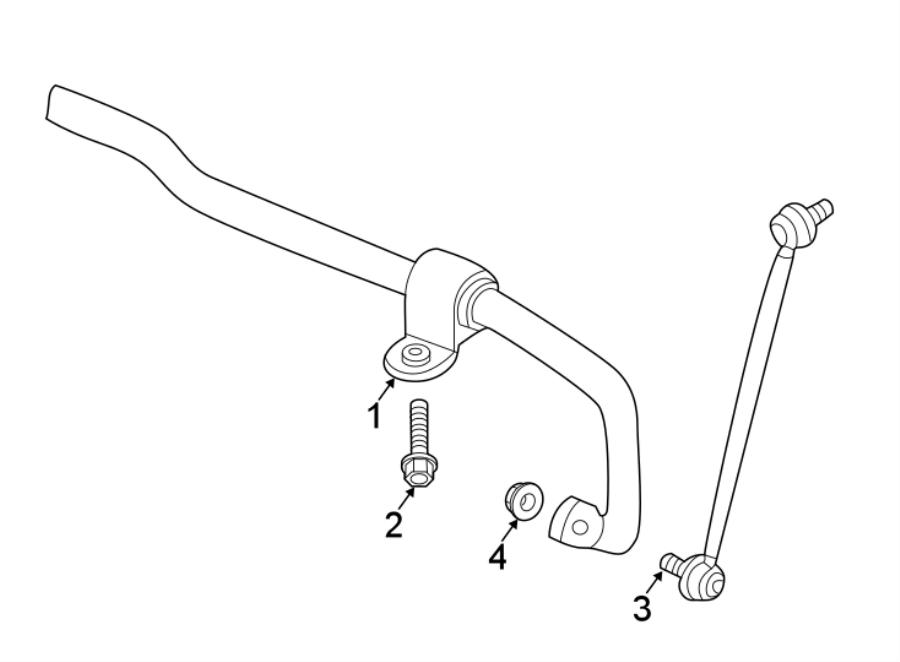 volkswagen beetle link  stabilizer  autobahn - 5qm411315