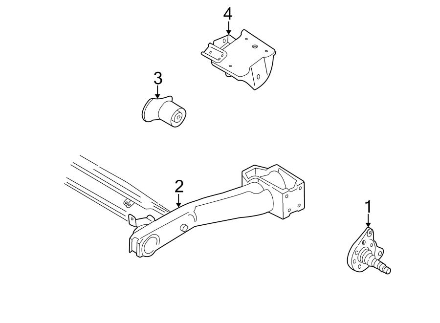 333501118 - stub axle  right  abs  rear