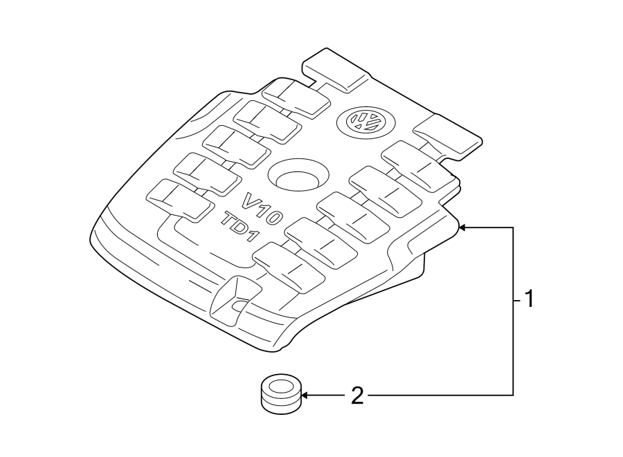 06a103226 -  engine  liter  cover