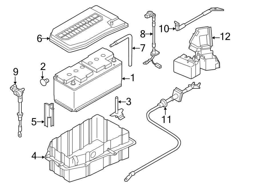 000915105dh - vehicle battery  amp  liter  conventional