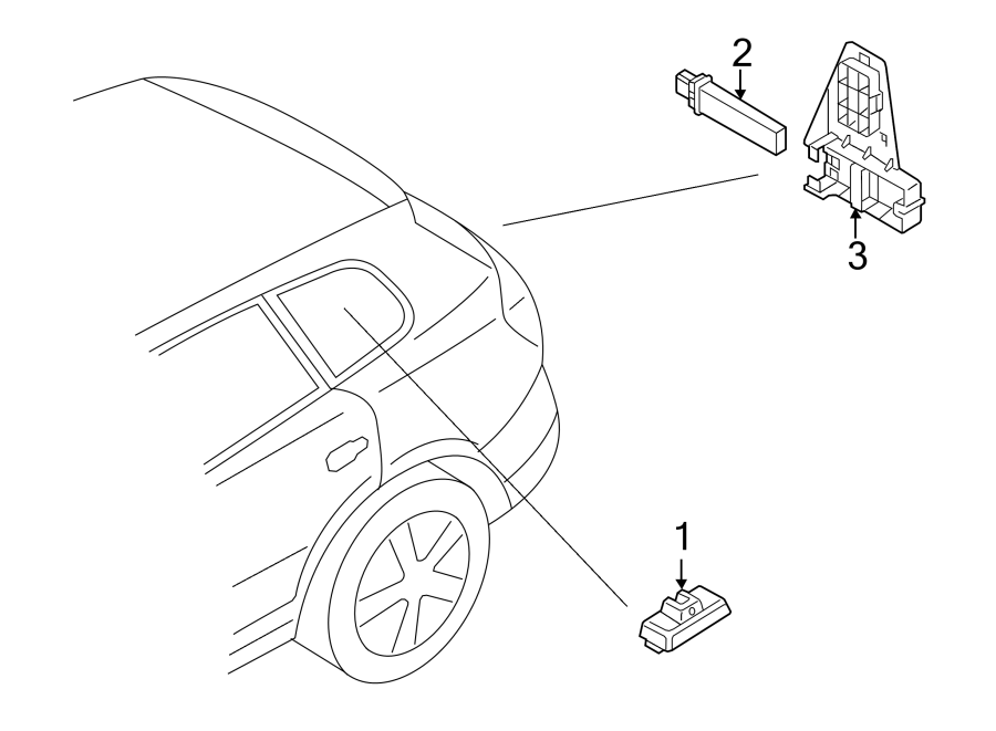 volkswagen tiguan tire pressure monitoring system sensor  tire pressure sensor  tpms sensor