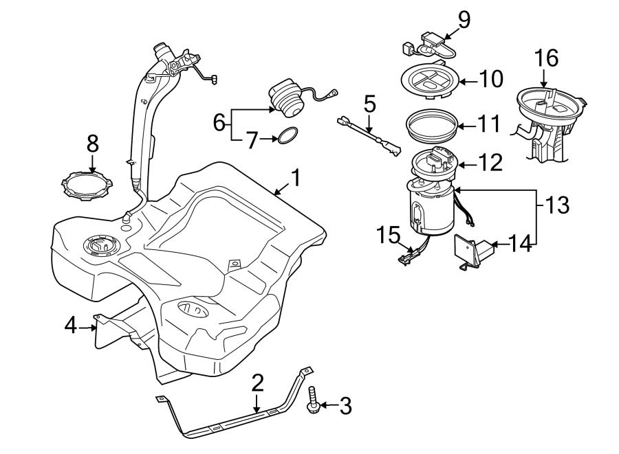 2013 Volkswagen Passat Tdi Sel Fuel Pump Driver Module