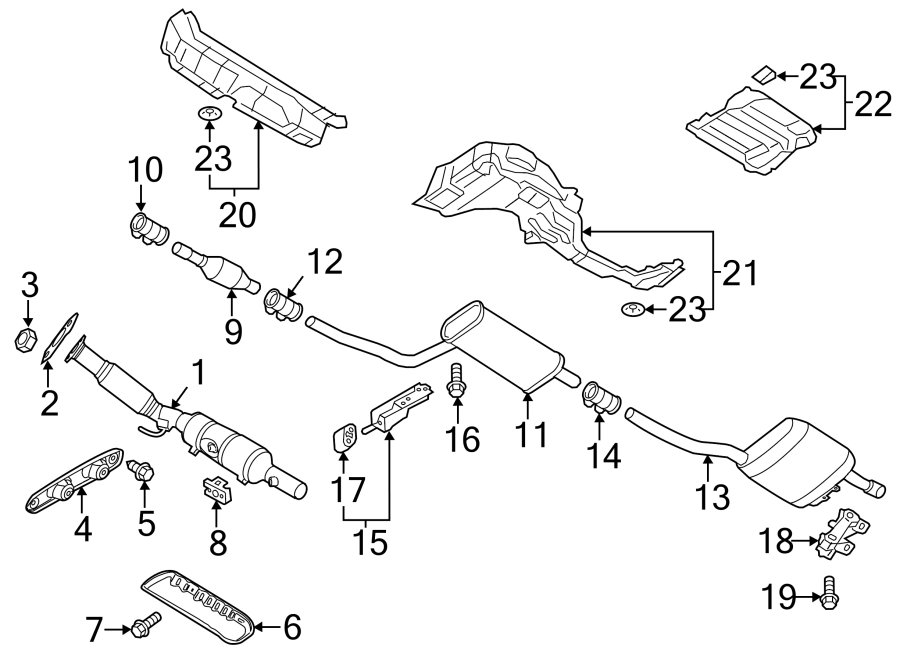 Wiring Diagram  33 2003 Vw Passat Exhaust System Diagram