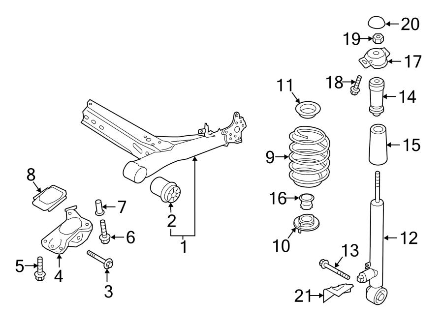 5qm511121e - coil spring  suspension  link  springs