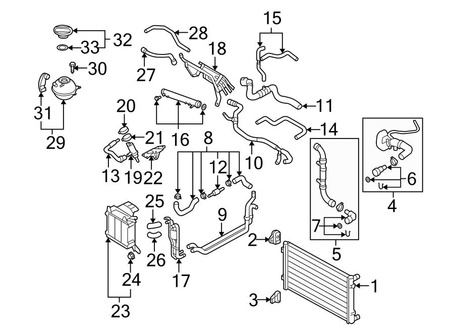 1j0121447bj - engine coolant hose  3 2 liter  throttle valve housing   1