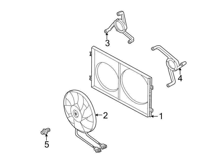 Cooling Fan Jetta Cooling Fan