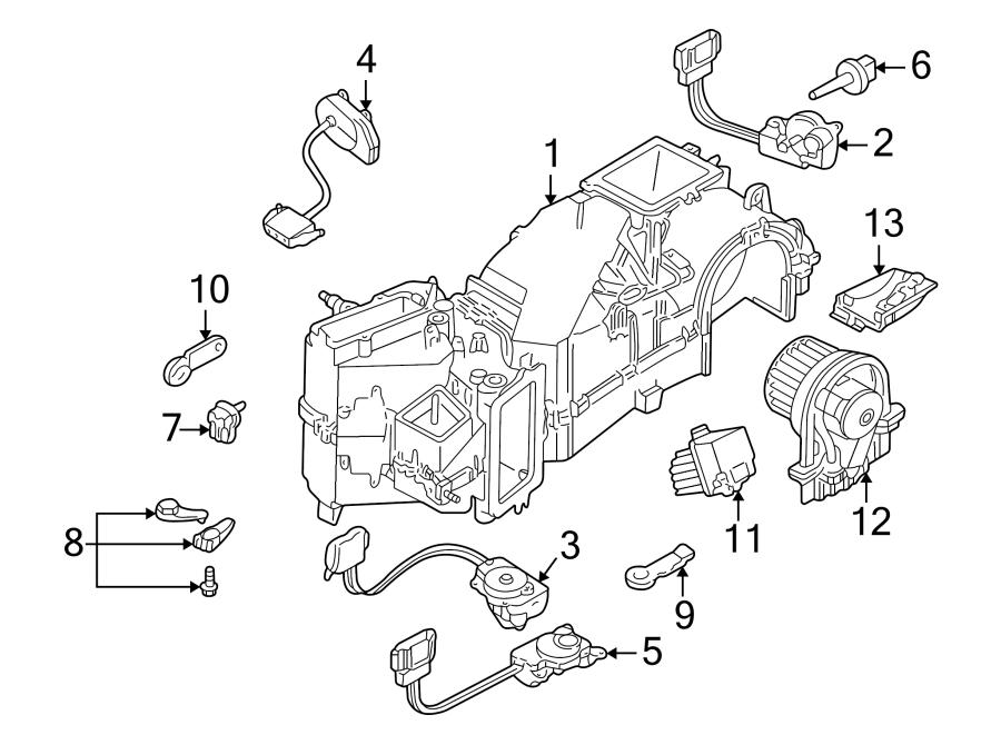Volkswagen Jetta Wagon Control  Module  Hvac  Blower