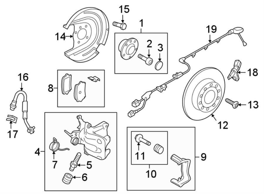 8u0615426a - disc brake caliper bracket  brakes  mount  right