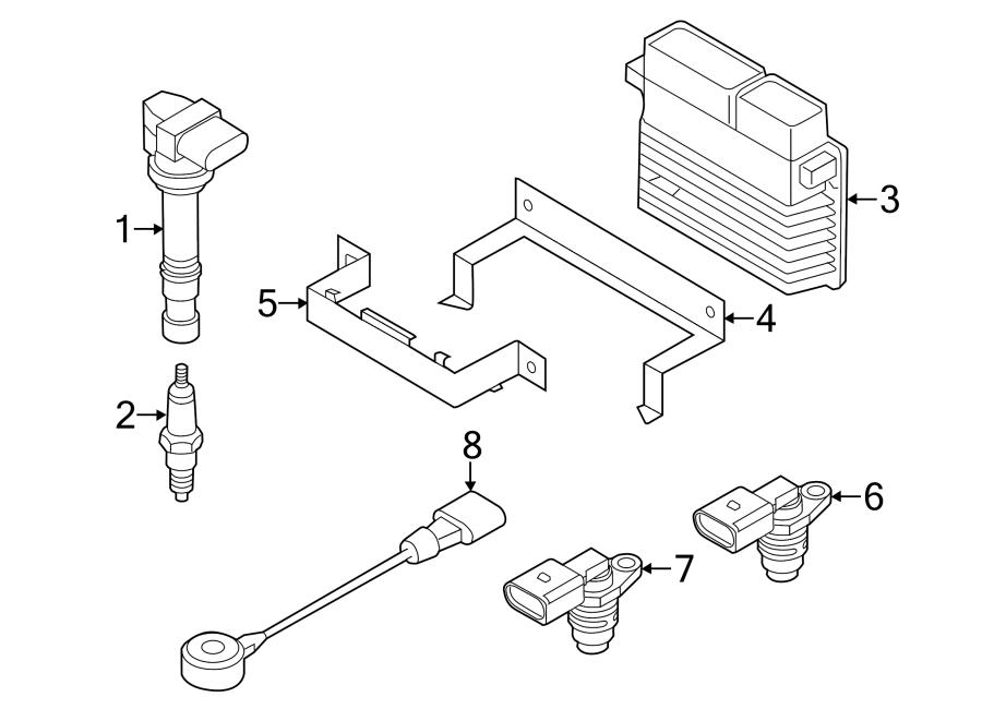 04c907601b - engine camshaft position sensor  liter  gas  code