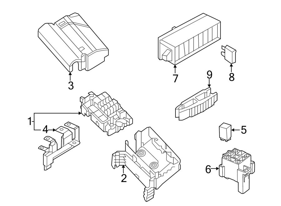 2012 volkswagen jetta relay rear compartment. Black Bedroom Furniture Sets. Home Design Ideas